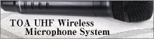 TOA UHF Wireless Microphone System